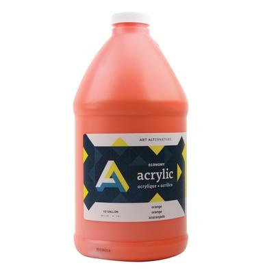 Art Alternatives Economy Acrylic 64 oz., Orange