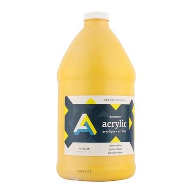 Art Alternatives Economy Acrylic 64 oz., Warm Yellow