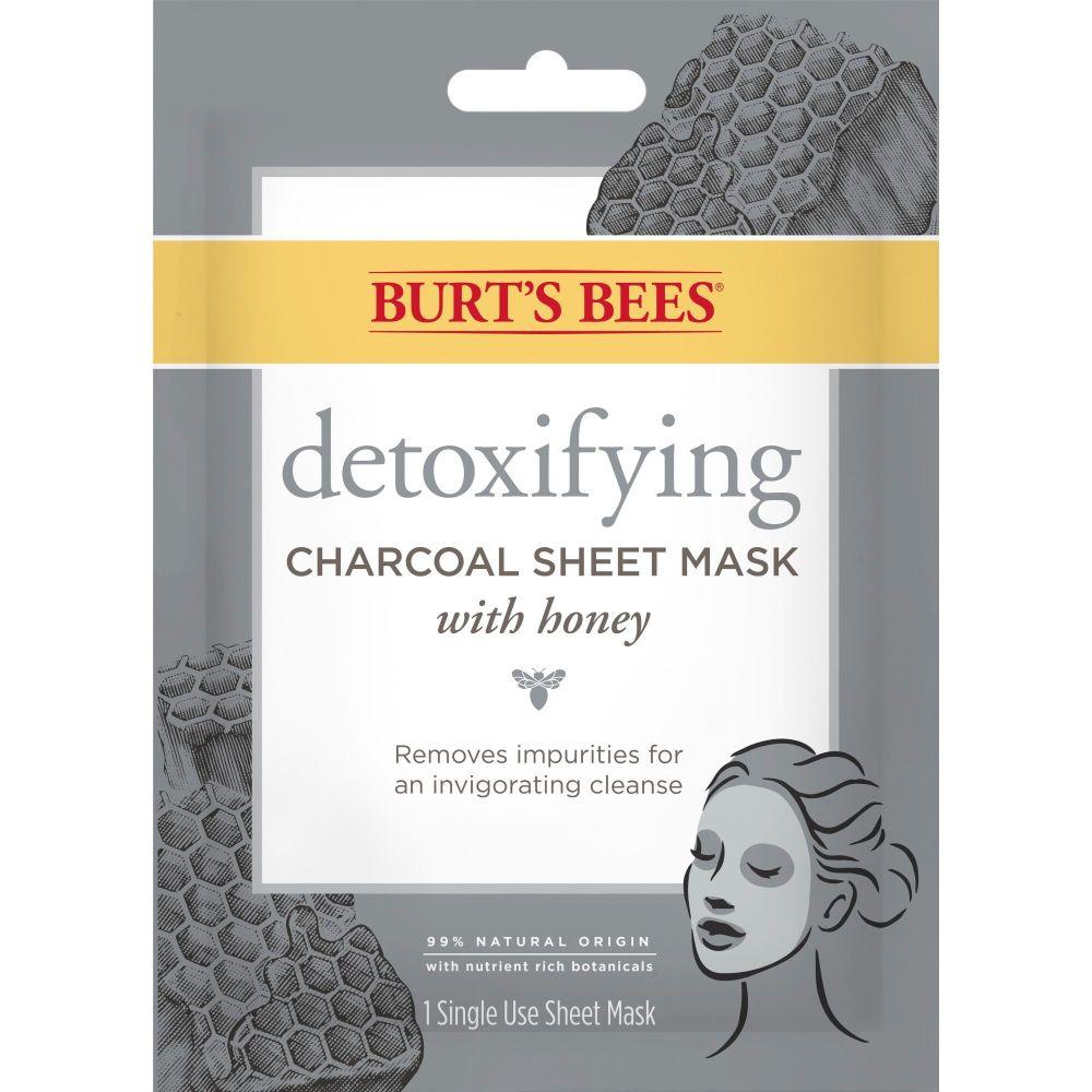 Sheet Mask  Detoxifying Charcoal