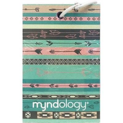 Myndology Tribal RinGBound Flashcards 75 Sheets 2.125 x 3.3125