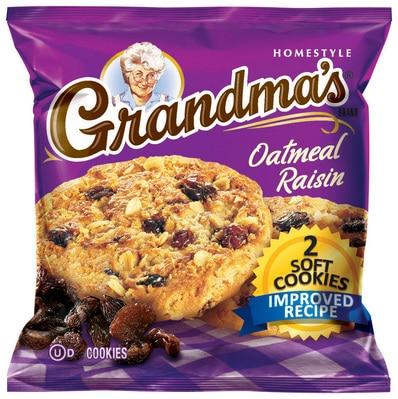Grandmas - Big Oatmeal Raisin Cookies
