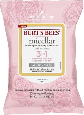 Micellar Makeup Removing Towelettes  Rose (30 count)