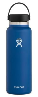 Hydro Flask 40 oz. Wide Mouth With Flex Cap Cobalt 2.0