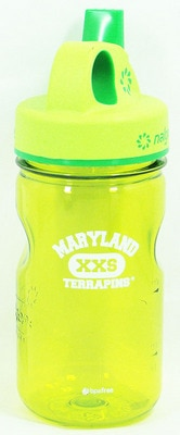 University of Maryland College Park 12oz Nalgene Sippy Wide Mouth Water Bottle