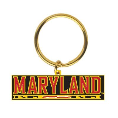 University of Maryland College Park Brass Key Tag