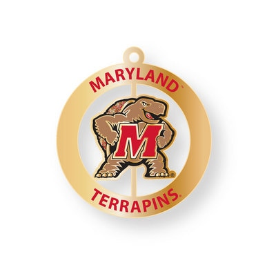 University of Maryland College Park Key Tag Spinner