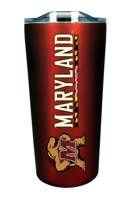 University of Maryland College Park 18 oz Soft Touch Stainless Steel Tumbler