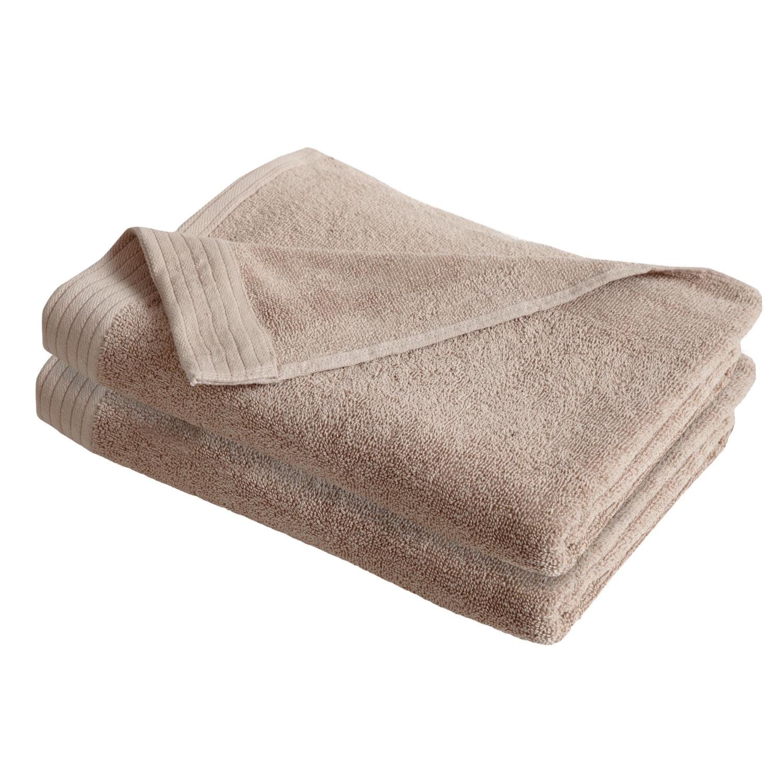 IZOD Everyday Tan 4 Pack Bath Towels