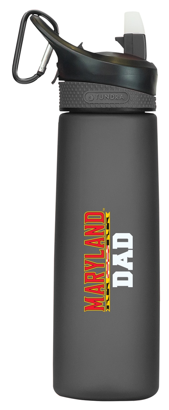 University of Maryland College Park 24 oz Frosted Water Bottle