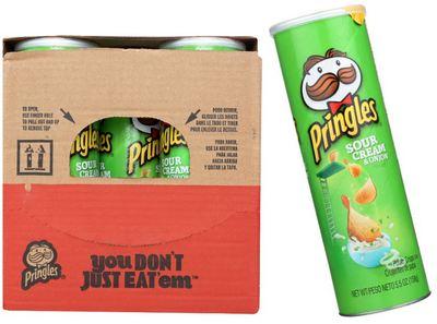 Pringles Sour Cream & Onion 14/5.57oz