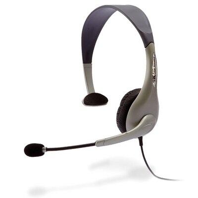 Cyber Acoustics AC-840 Usb Mono Headset Internet Communication & Boom Mic