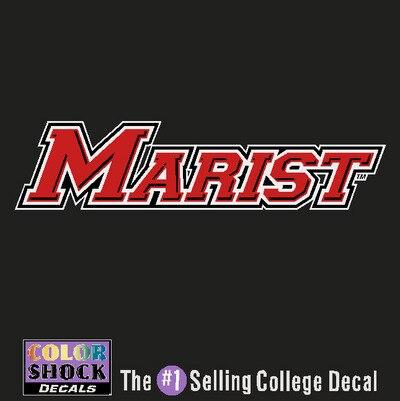 Marist College Color Shock Auto Decal