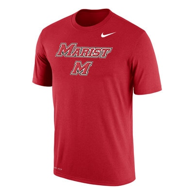 Marist College Nike Men's DRI-FIT Cotton Short Sleeve T-Shirt