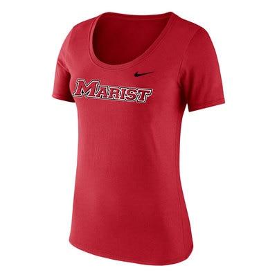 Marist College Women's Core Cotton Scoop T-Shirt