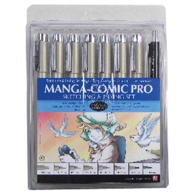 PIGMA MANGA-COMIC PRO 8 PC St