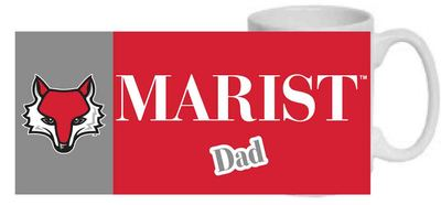 Marist College 15oz Dad Ceramic Coffee Mug