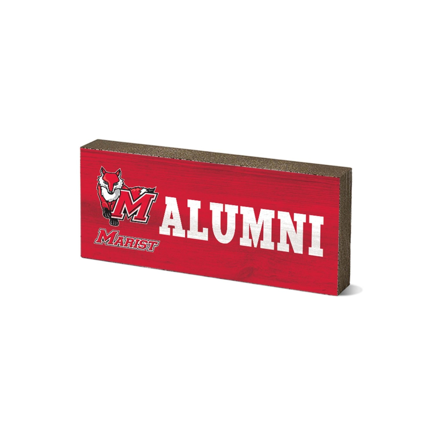 """Marist College 6"""" Wood Tabletop Sign"""