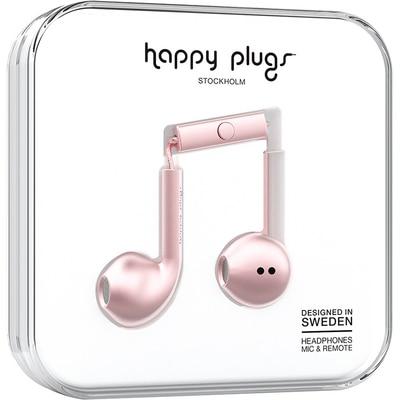 Happy Plugs Pink Gold Earbud Plus