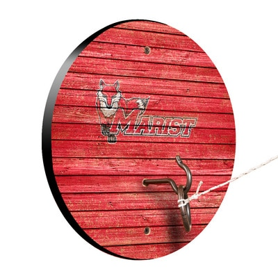 Marist College Red Foxes Weathered Design Hook and Ring Game