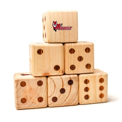 Marist College Red Foxes Yard Dice