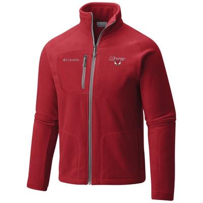 Marist College Columbia Men's Fast Trek II Full Zip Fleece Jacket