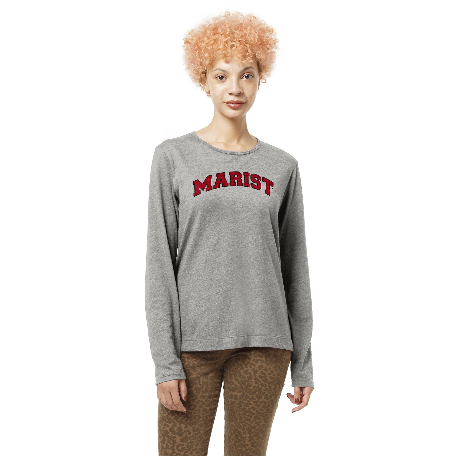 Marist College Vented Long Sleeve Crew