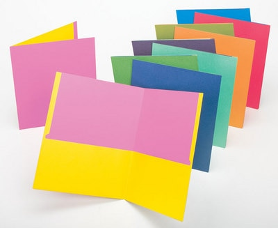 Portfolio Twisted Primary Colors