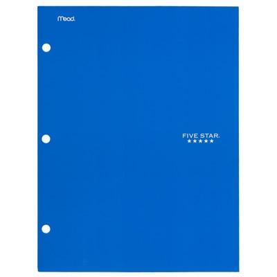 Five Star 4Pocket Paper Folder Assorted Colors