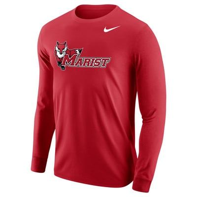 Nike Men's Core Cotton Long Sleeve T-Shirt