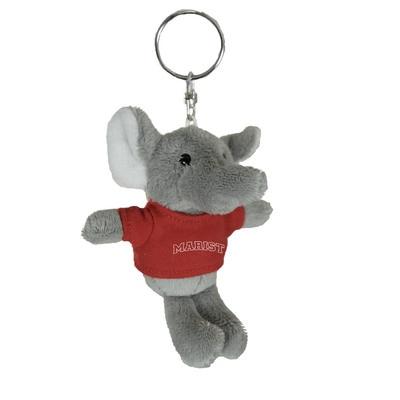 Marist College 4in Plush Elephant Keychain