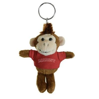 Marist College 4in Plush Monkey Keychain