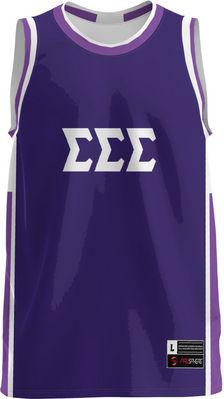 Sigma Sigma Sigma Unisex Replica Basketball Jersey Modern (Online Only)
