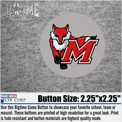 Marist College Color Shock Bigtime Game Button