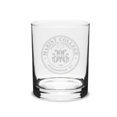 Marist College Pint Glass with Seal