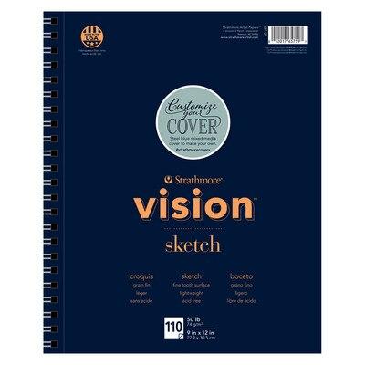 Strathmore Vision Sketch Paper Pad 9 x 12