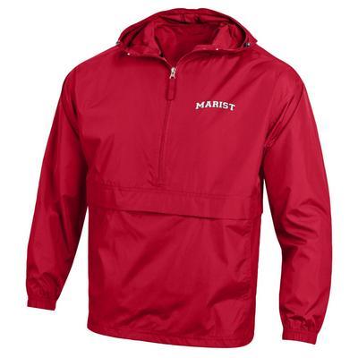 Marist College Champion Half-Zip Packable Jacket