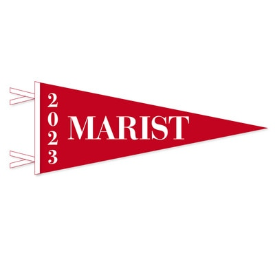Marist College Felt Pennant - Grad Year 2023