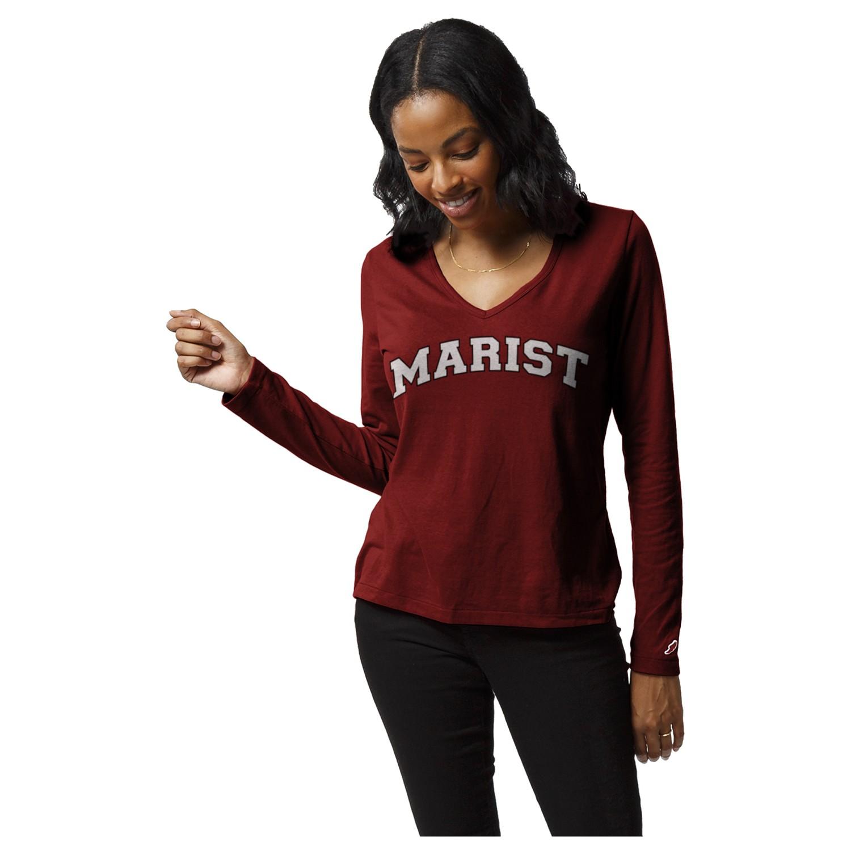 Marist College  Women's Respin Long Sleeve T-Shirt