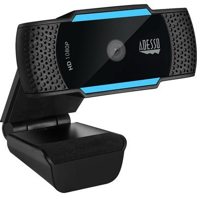 Adesso 1080p HD Webcam w Dual Mic