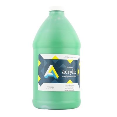 Art Alternatives Economy Acrylic 64 oz., Emerald Green