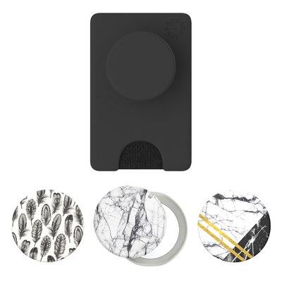 Popsocket PopWallet+PopGrip Mirror Bundle 4ct