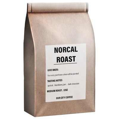 NorCal Roast - One Tree Planted - Our City Coffee