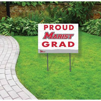 Marist College Proud Grad Yard Sign