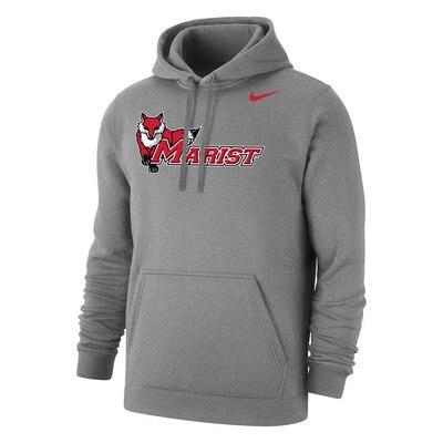 Marist College Nike Core Cotton Fleece Hoodie Sweatshirt