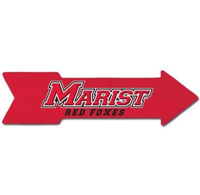 Marist College Arrow Wall Sign