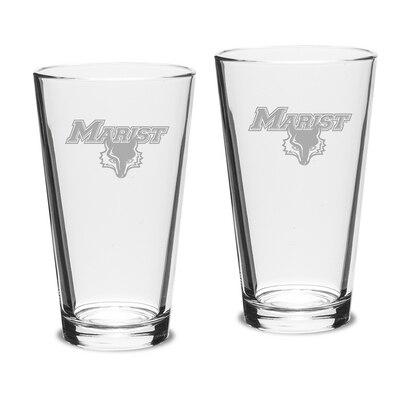 Marist College 2pk Pub Glass