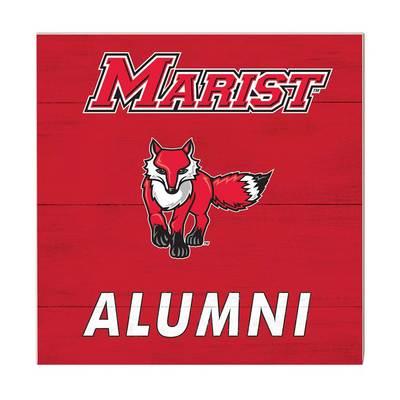 Marist College Team Color Alumni Sign