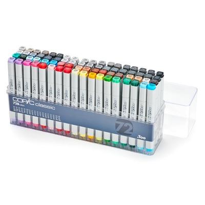 Copic(R) Classic Marker Set, 72-Color Set B