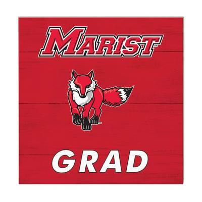Marist College Team Color Grad Sign