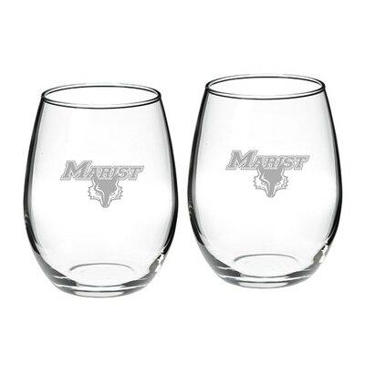 Marist College Stemless Wine Glass 2-Pack